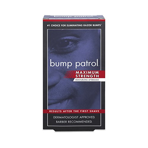 bump patrol maximum strength aftershave formula after