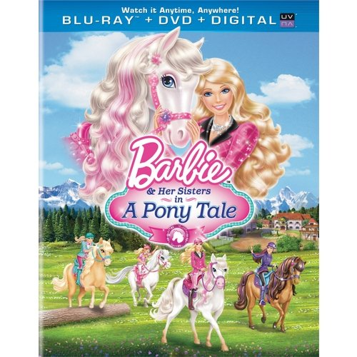 Barbie & Her Sisters In A Pony Tale (Blu-ray + DVD + Digital Copy) (With INSTAWATCH)