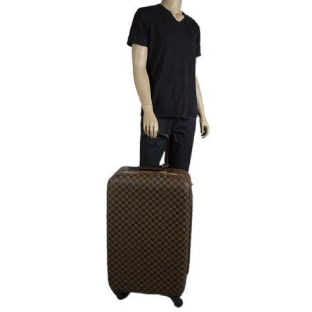 Louis Vuitton Zephyr Rolling Luggage 219367 Damier Ebene Travel Bag