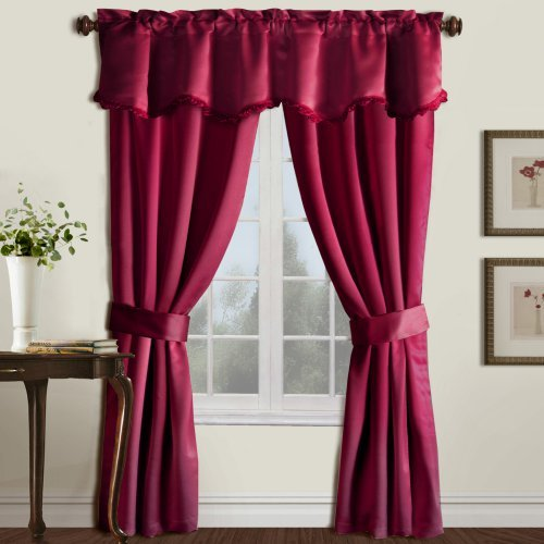 United Curtain Burlington 5 Piece Window Curtain Set