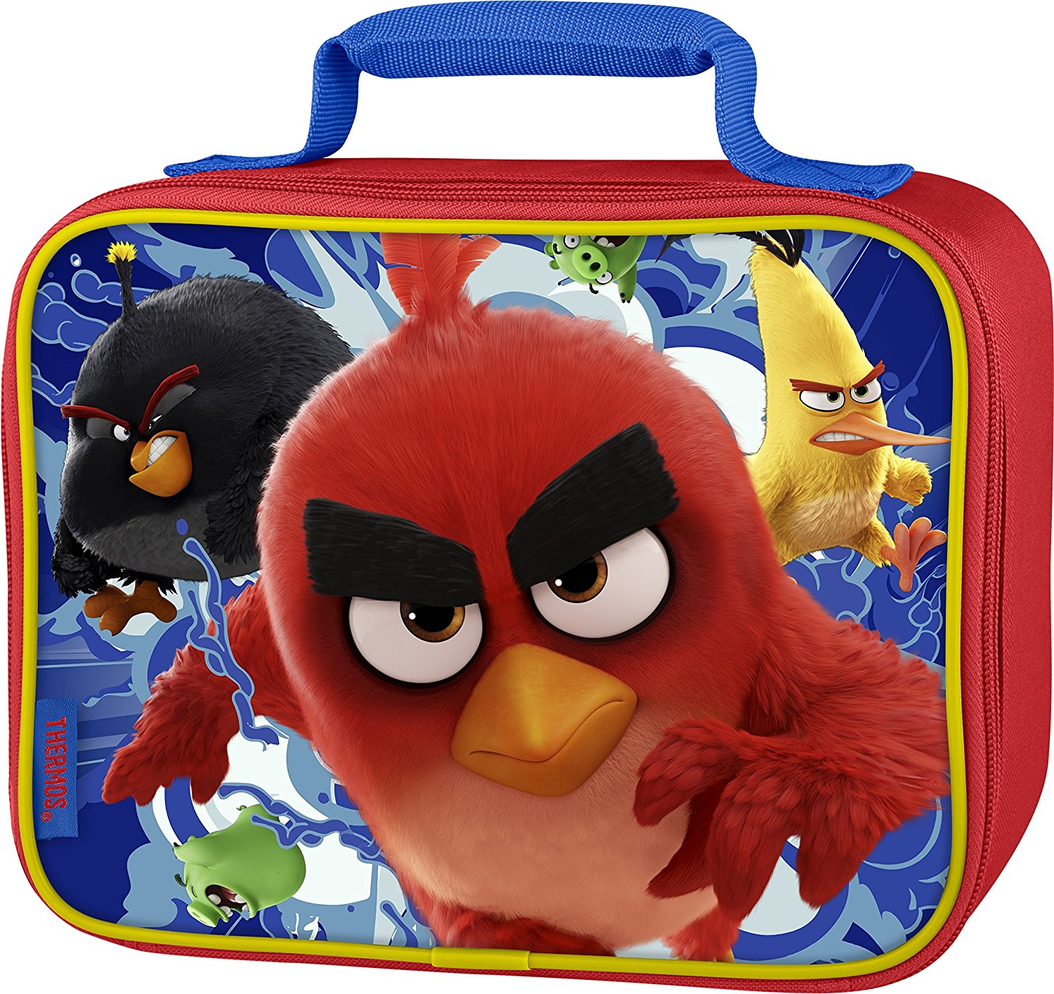 Thermos Lunch Kit, Angry Birds Soft Lunch Box Insulated Kids Lunchbox