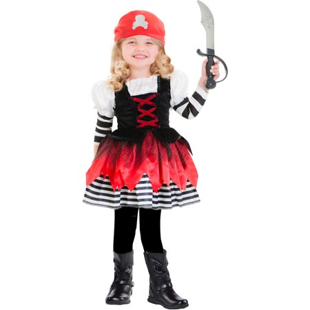 Pretty Pirate Toddler Halloween Costume