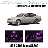 XtremeVision LED for Lexus GS300 GS400 GS430 1998-2005 (12 Pieces) Pure White Premium Interior LED Kit Package + Installation Tool Tool