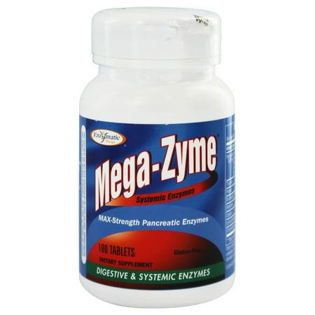 Enzymatic Therapy - Mega-Zyme enzymes systémiques - 100 comprimés