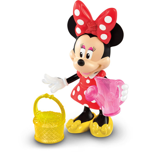 Fisher-Price Minnie Mouse Basic Flower Garden Bow-Tique Play Set