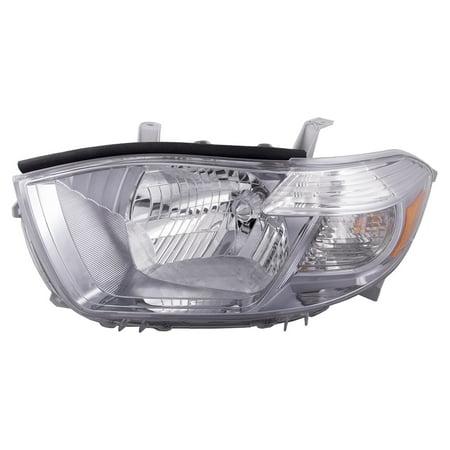 2010 toyota highlander usa built sport model driver headlight to2502202. Black Bedroom Furniture Sets. Home Design Ideas
