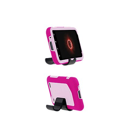 Incipio - Double Cover Silicrylic Case with Stand for HTC DROID Incredible 2 ADR6350 - Light Pink/Dark Pink