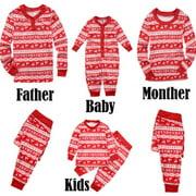 Christmas Family Mathching Pajamas Set Sleepwear Holiday Pyjamas PJs Collection