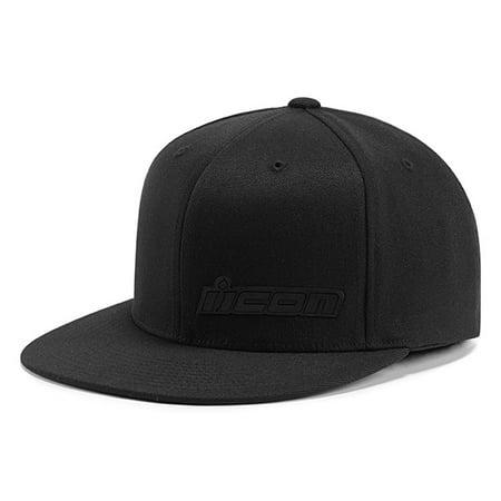 Icon Fused Flexfit Hat Black (Icon Hat)