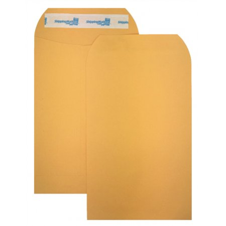 200 ShippingMailers 6 x 9 Kraft Catalog Envelopes /w Self Adhesive (200 Self Adhesive)