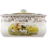 Spode WOODLAND HUNTING DOGS Bread Bin (All Dogs)