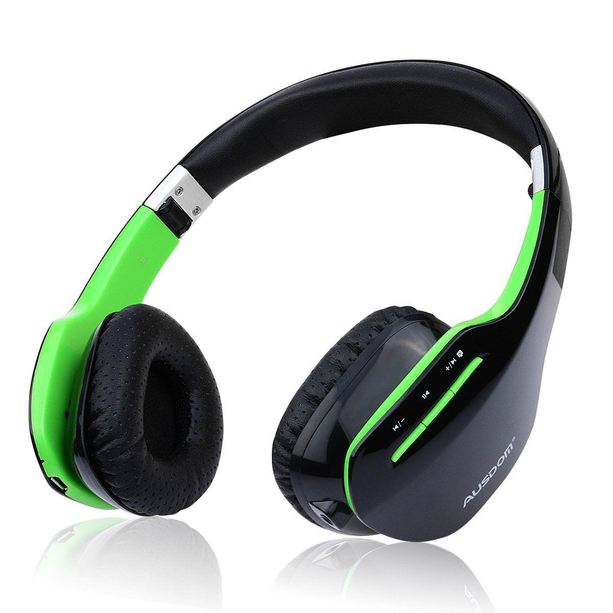 Ausdom M07s Foldable Over_Ear Bluetooth Wireless Headphon...