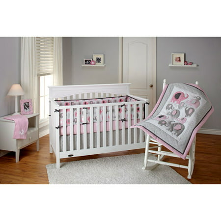 Discontinued Little Bedding By Nojo Elephant Time 3 Piece