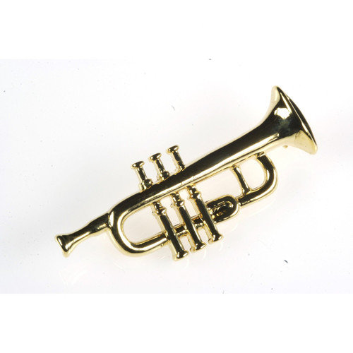 Noteables Trumpet Stick Pin in Gold (Set of 2)