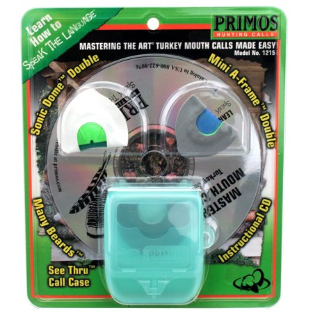 - Primos Mastering the Art PS1215 Turkey Call w/Instructional CD
