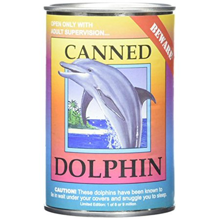 "Canned Critters Stuffed Animal: Dolphin 6"" - image 1 of 2"