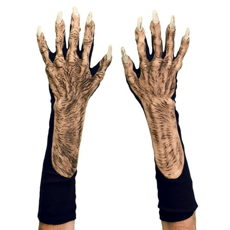 Zagone Studios Halloween Dress Up Costume Adult Monster Gloves (one size) - Movie Studio Quality Halloween Costumes