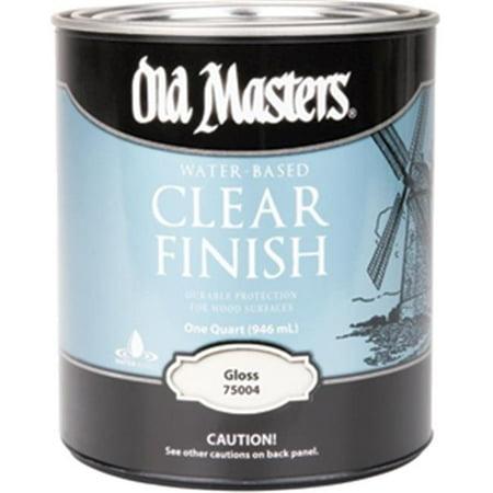 OLD MASTERS 75104 Satin H2O Acrylic Varnish - 1 Quart