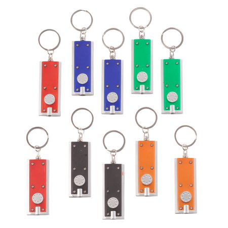 Light Up Keychain Set of 10