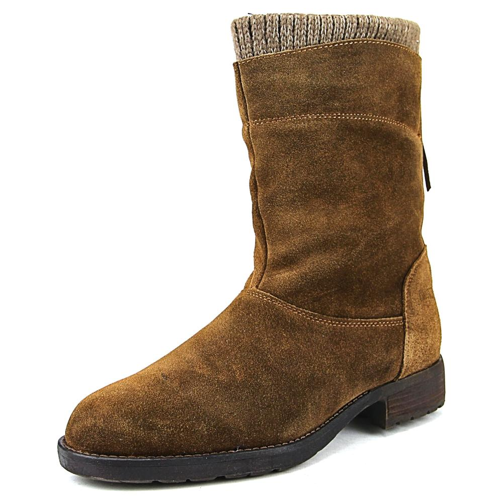 Cougar Bizz   Round Toe Suede  Mid Calf Boot