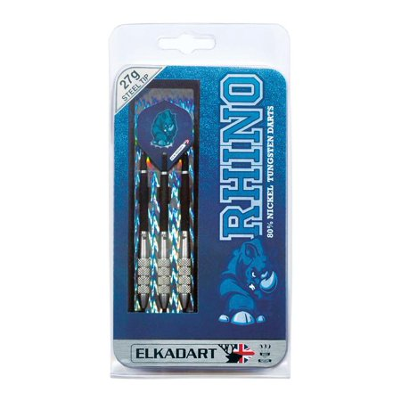 Elkadart Rhino 80% Tungsten Steel Tip Darts with Storage/Travel Case, 27 Grams - image 2 of 3