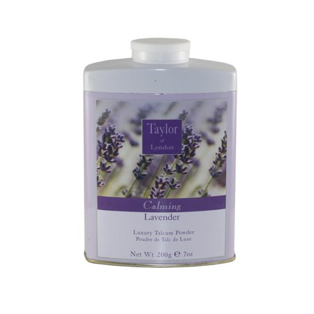 Taylor Of London Lavender Luxury Talcum Powder 7.0 Oz / 200g for (Luxury Powder)