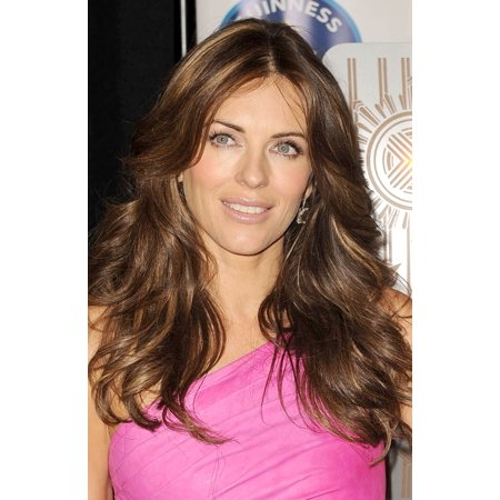 Elizabeth Hurley At A Public Appearance For Estee Lauder Companies Breast Cancer Awareness Campaign Illuminates Empire State Building In Pink Lights The Empire State Building New York Ny October 1 201 (Empire State Building Halloween Light Show)