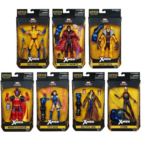 X-Men Marvel Legends Apocalypse Series Set of 7 Action Figures