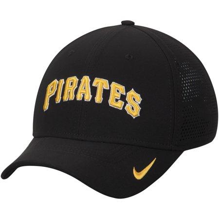 Pittsburgh Pirates Nike Vapor Classic Swoosh Performance Flex Hat - Black -  Walmart.com ccfe08289a3
