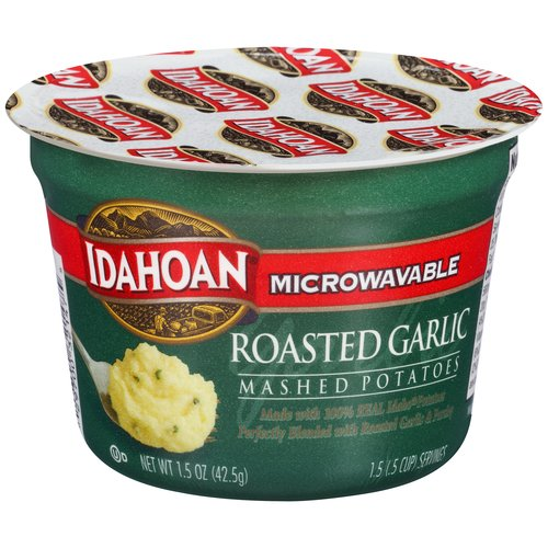 Idahoan Roasted Garlic Mashed Potatoes, 1.5 oz