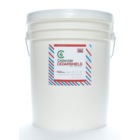 Gloss 5 Gallon Pail - CedarShield Natural Wood Treatment - 5 Gallon Pail