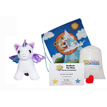 Make Your Own Stuffed Animal Moonbeam the Pegasus 16