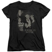 The Munsters - American Gothic - Women's Short Sleeve Shirt - Large