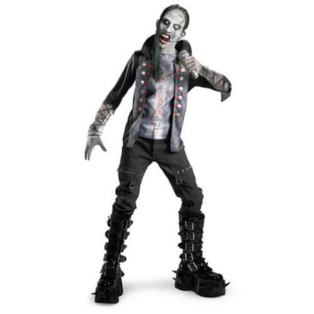 Dressing Goth For Halloween (Goth Evil Shock Rocker Costume)