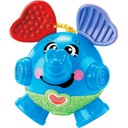 Fisher Price Bounce and Giggle Elephant by Mattel
