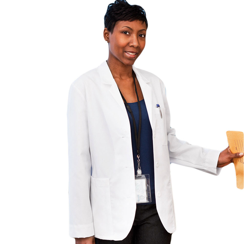 "clearance meta labwear women's consultation 28""; lab coat"