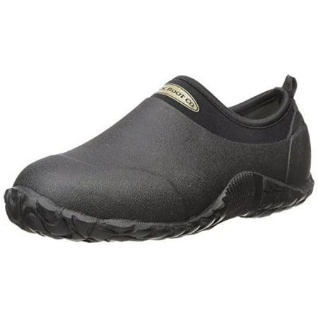 MuckBoots Edgewater Camp Hiking Shoe Black Waterproof Low (Womens Merrell Azura Waterproof Hiking Shoes Low)