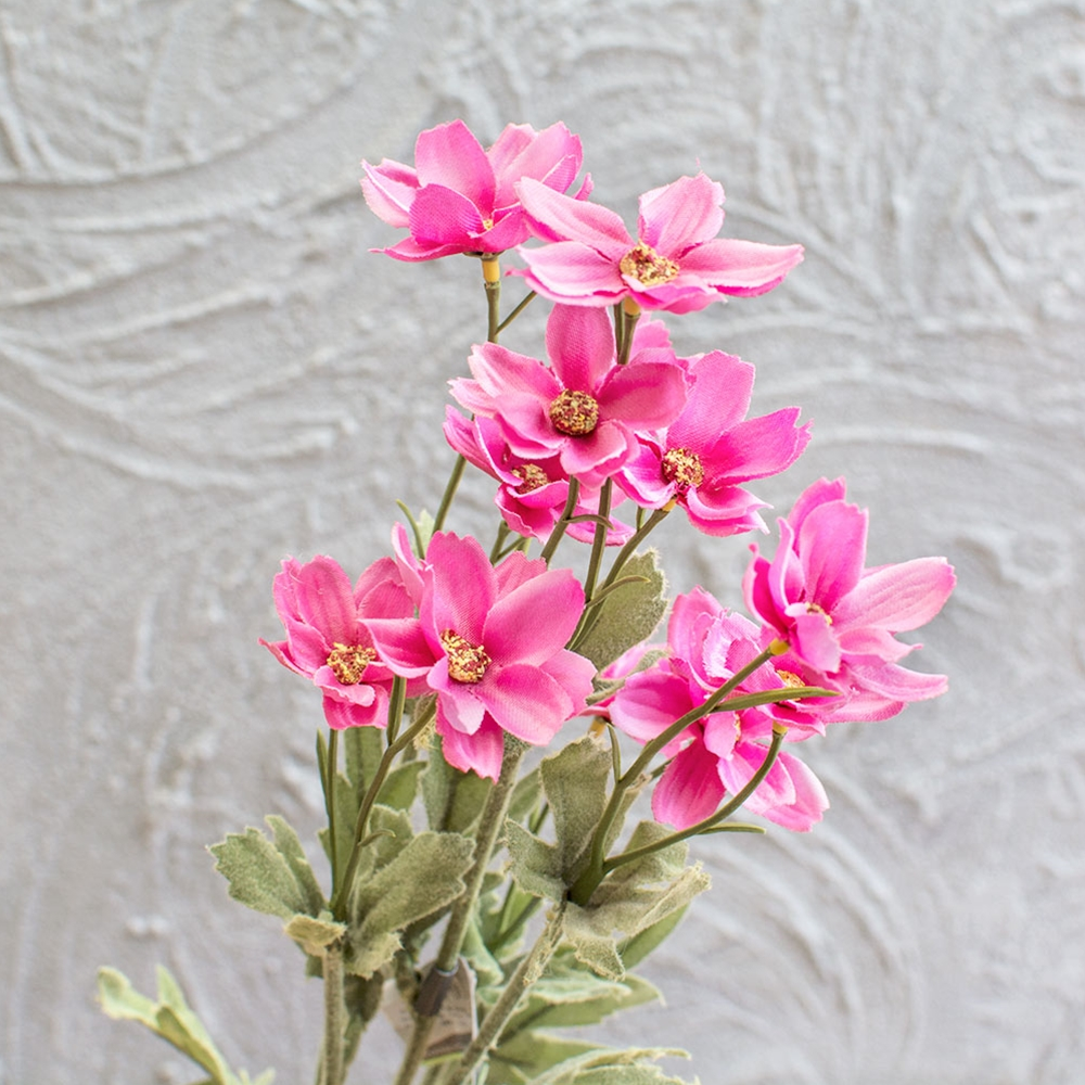 Cosmos Artificial Daisy Flower Stem Faux Floral 26 inch Pink