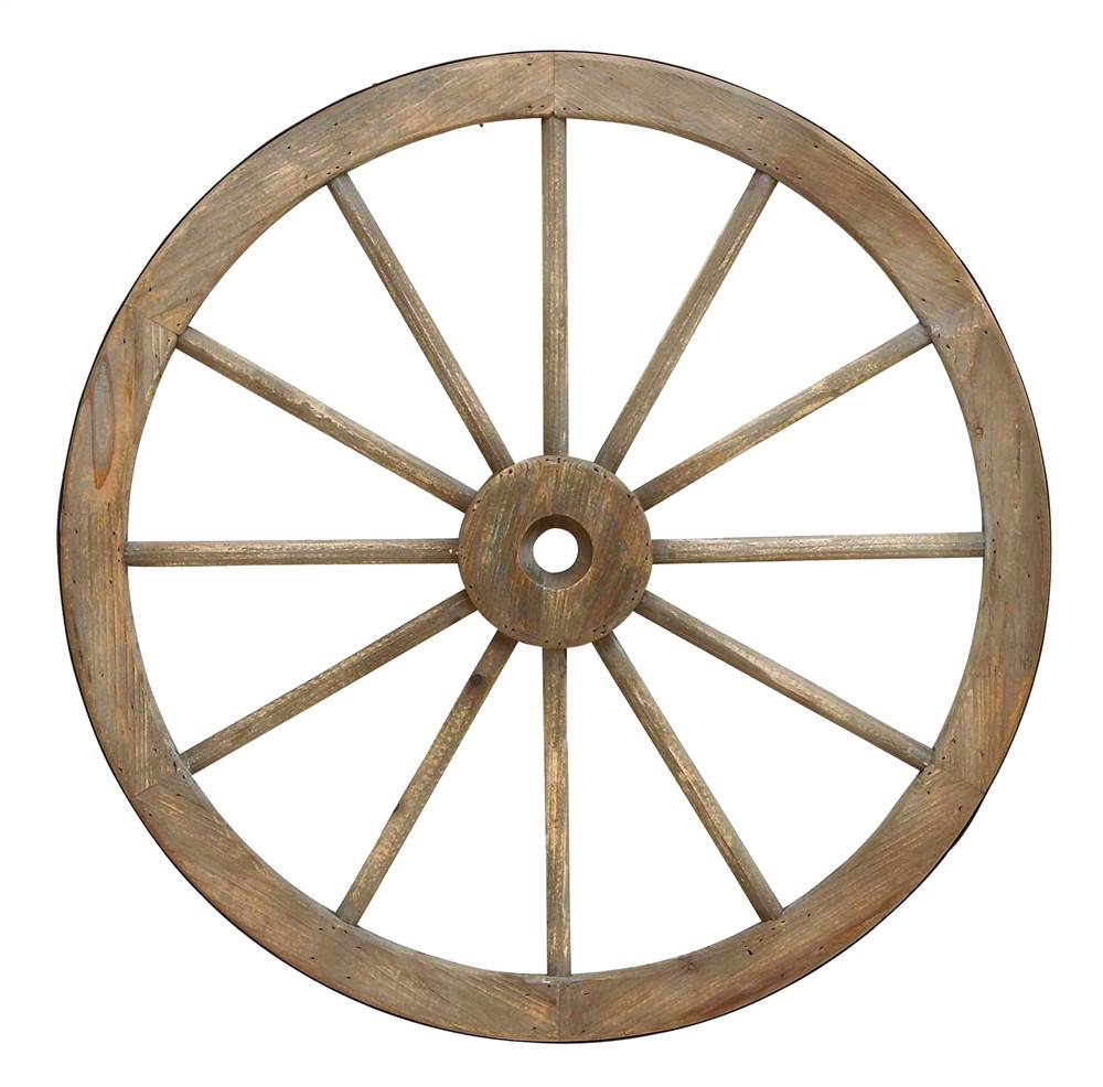 30 in. Wagon Wheel