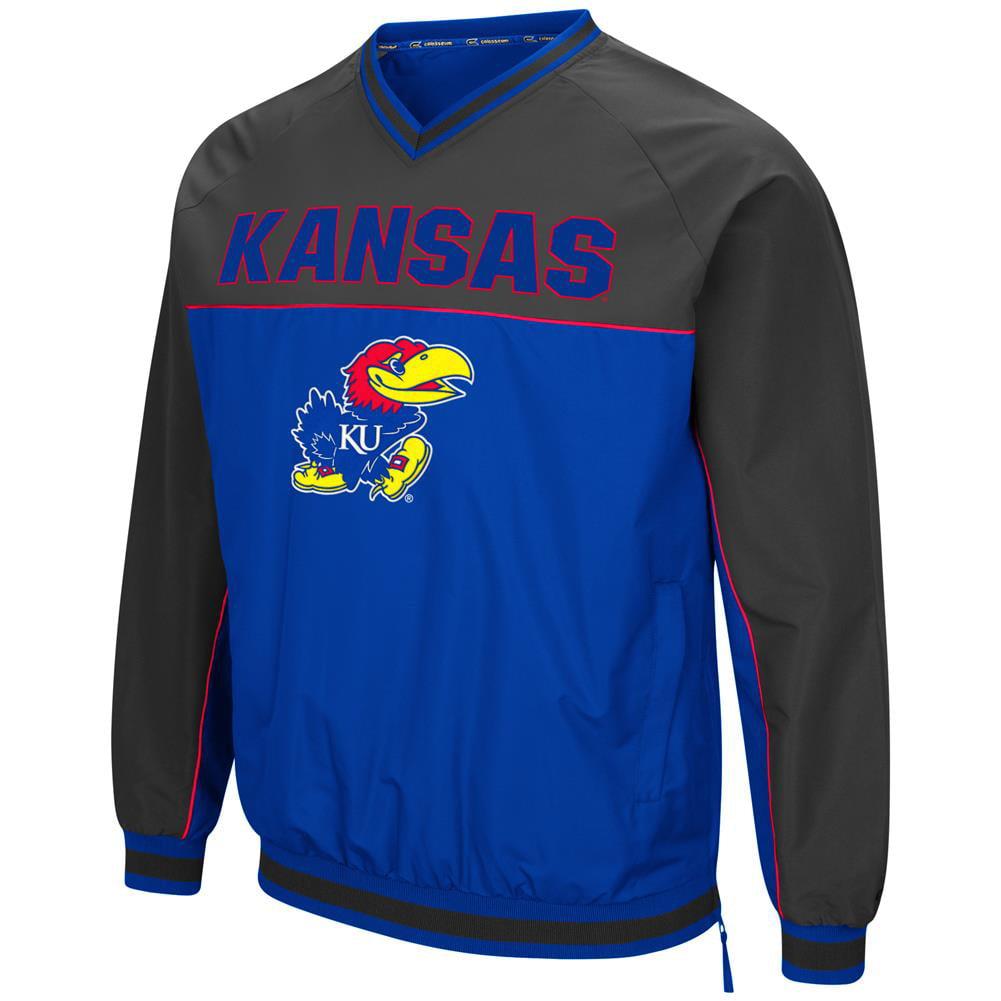 Kansas Jayhawks KU Windbreaker Jacket Coach Klein Pullover