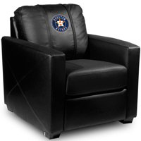 Houston Astros MLB Silver Chair