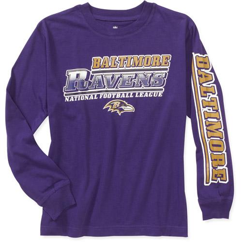 Nfl - Boys' Baltimore Ravens Team Long S