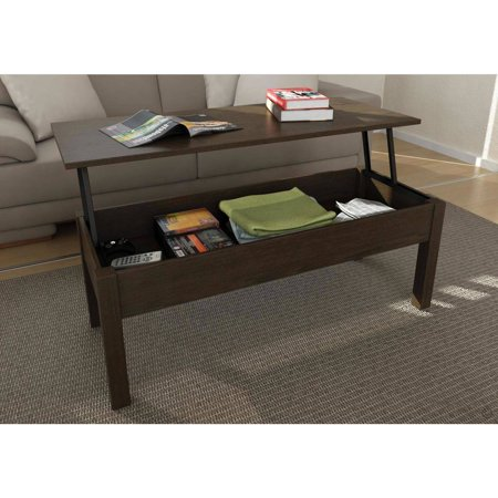 Mainstays Lift-Top Coffee Table, Multiple Colors - Mainstays Lift-Top Coffee Table, Multiple Colors - Walmart.com