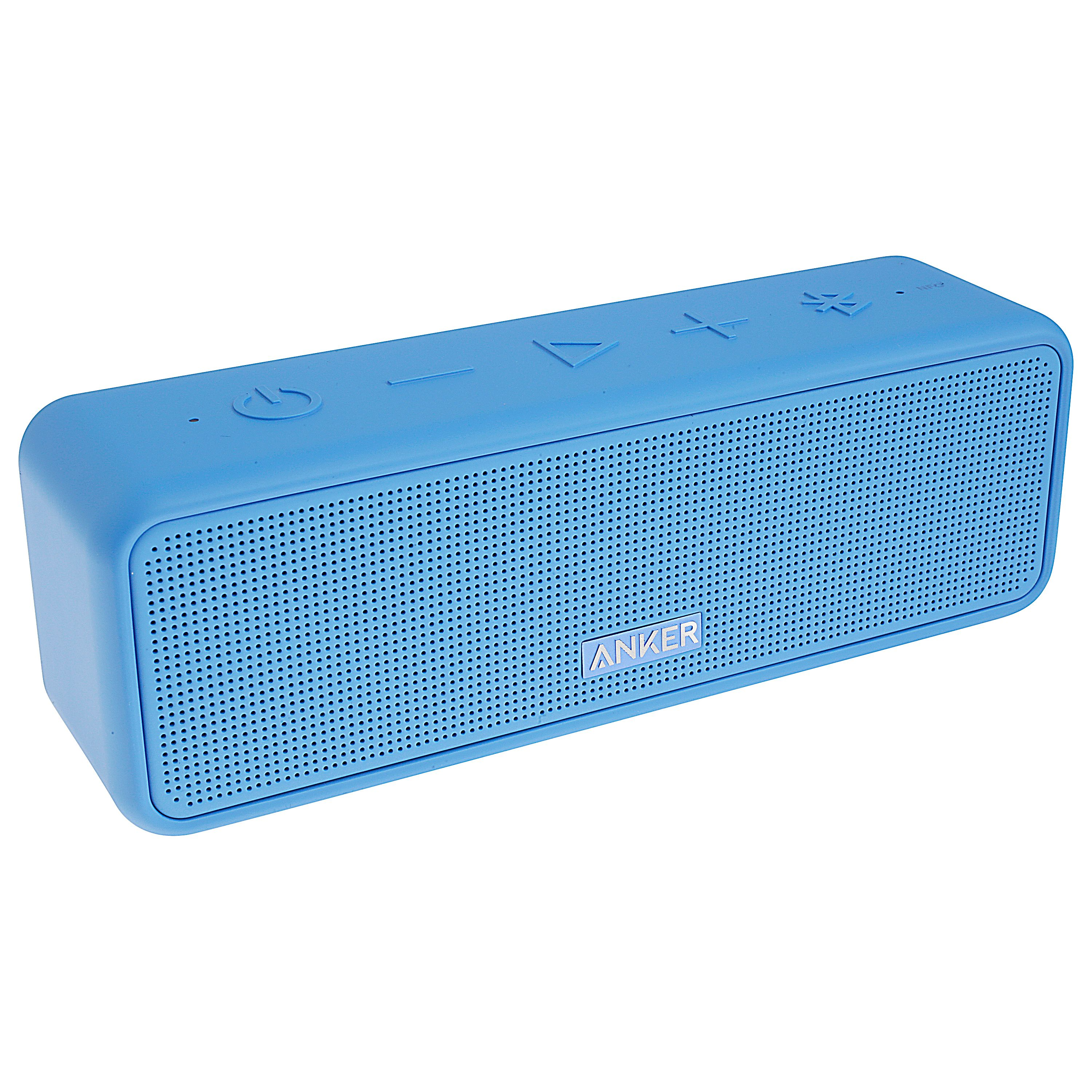 Anker SoundCore Select Portable Bluetooth Speaker Blue with Loud Stereo Sound, Rich Bass, 24-Hour Playtime, 66 ft Bluetooth Range, Built-In Mic. Perfect Wireless Speaker for iPhone, Samsung and more