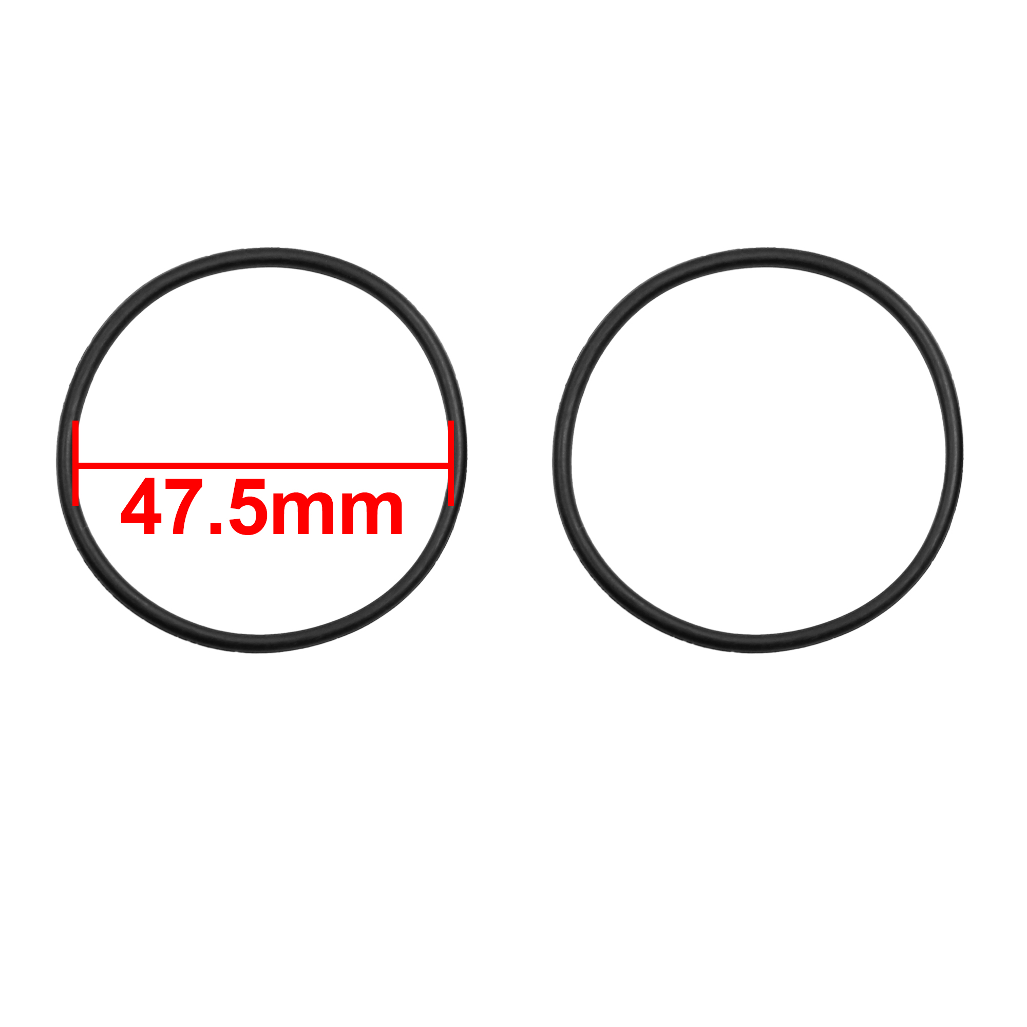 20pcs Rubber O Ring Washer Car Air Conditioning Gasket Sealing 47.5 x 2.65mm - image 1 of 2