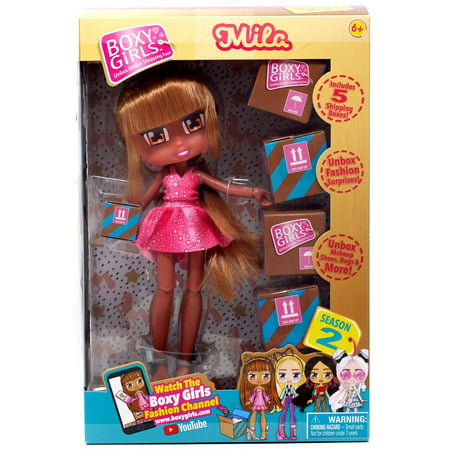 Boxy Girls Doll Mila](Girls Rag Doll)