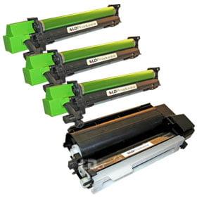 LD 3 Sharp Compatible AL-100TD toners & 1 AL-100DR Drum Unit ()