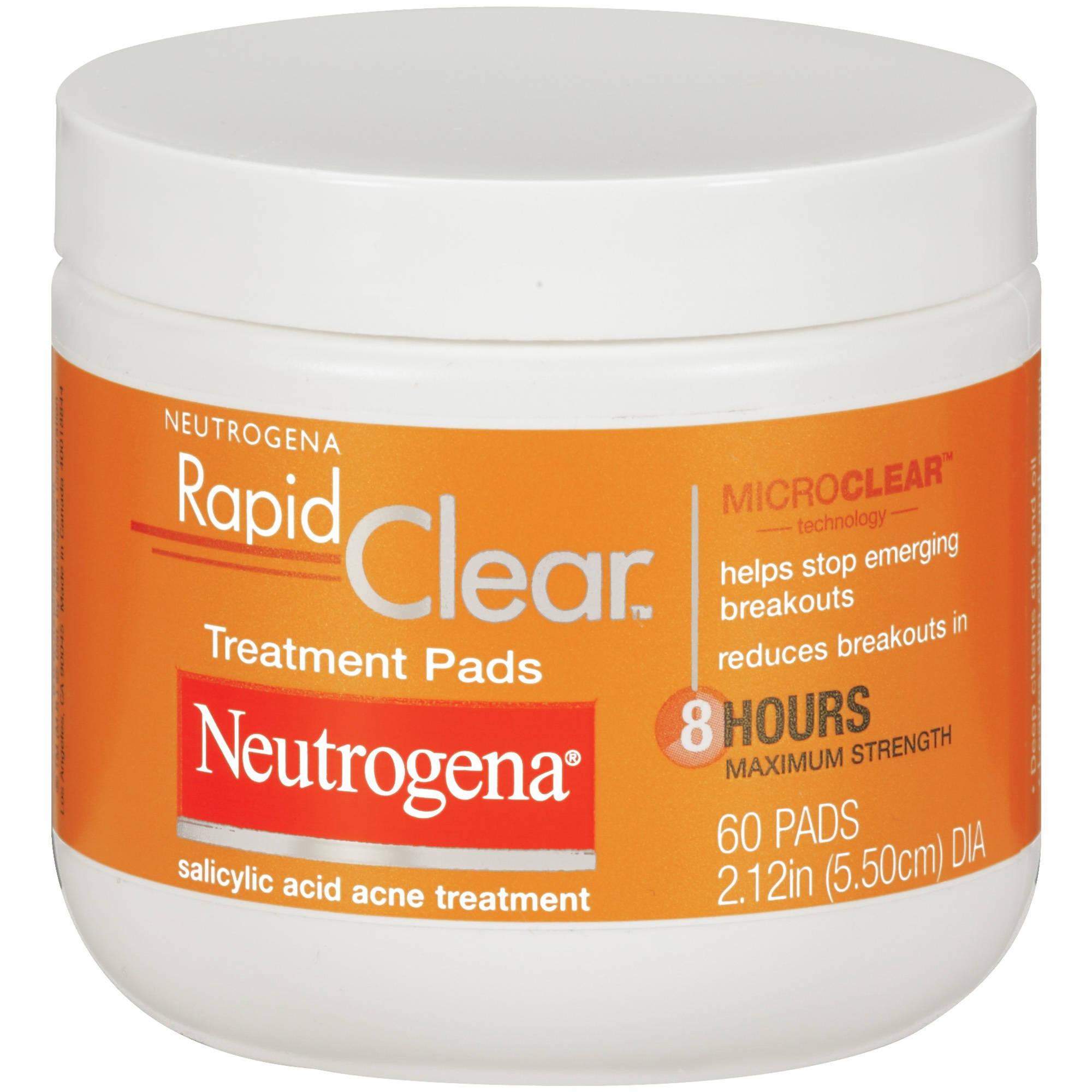 Neutrogena Rapid Clear Treatment Pads, 60 count