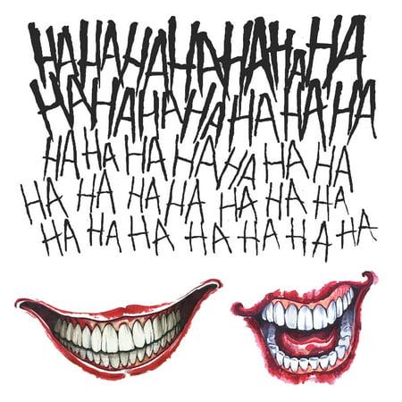 Suicide Squad: Joker Tattoo Kit for $<!---->