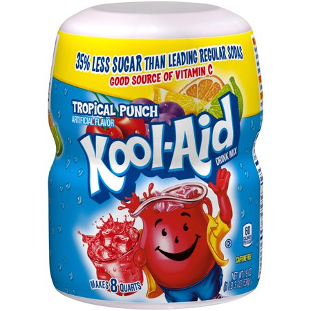 Kool aid drink mix tropical punch 239 oz 1 count walmart kool aid drink mix tropical punch 239 oz 1 count sciox Choice Image